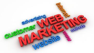 Web marketing using hubspot
