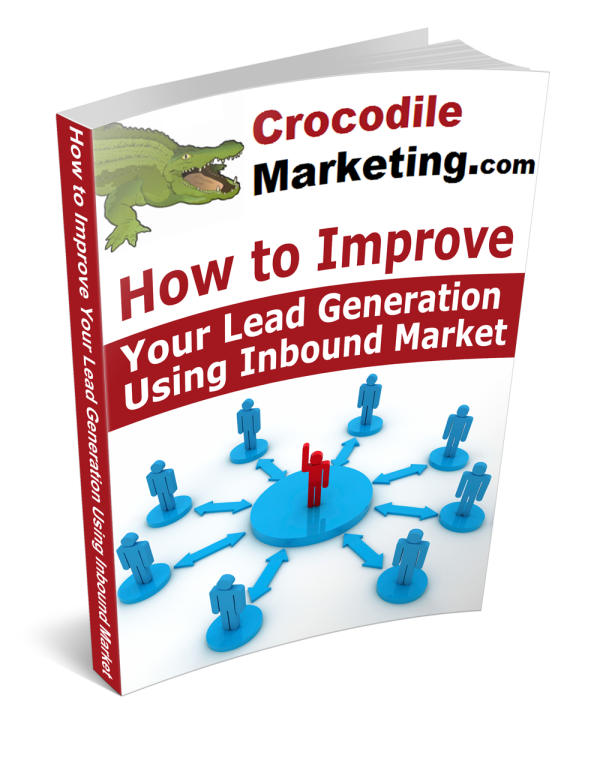Using Inbound marketing for lead generation ebook cover