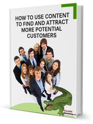 ebook cover for How to Use Content to Find and Attract More Potential Customers