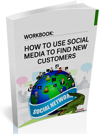 book cover for How To Use Social Media To Find New Customers