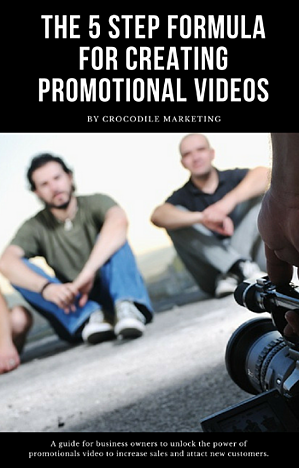 Cover-Image: A guide for business owners to unlock the power of promotionals video to increase sales and attact new customers.