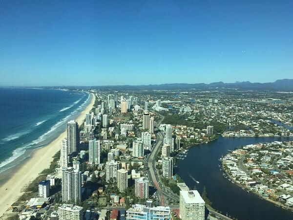 Image of the Gold Coast city