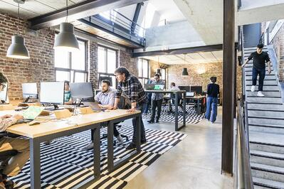 Image of Queensland Startup work space