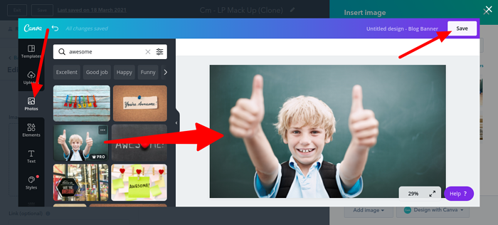 how to copy image from canva to hubspot