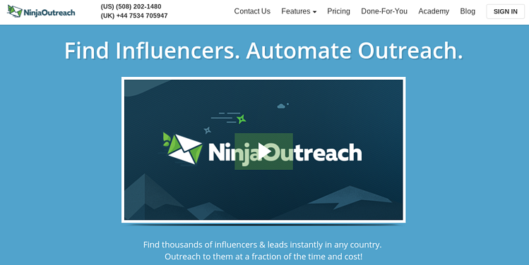 Ninja Outreach Tools