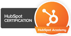 HubSpot CRM certifaction partner logo
