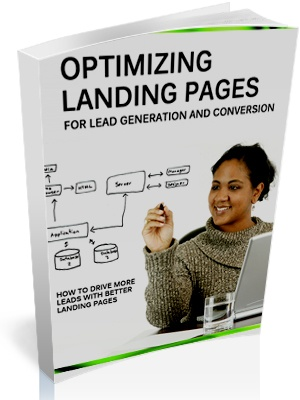 Optimizing Landing pages for lead generation - cover image
