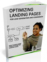 ebook cover for optimisng landing pages