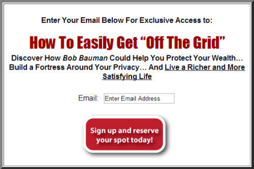 Sign up now call to action example